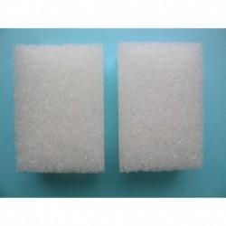 Eponge pour pierre d'argile blanche