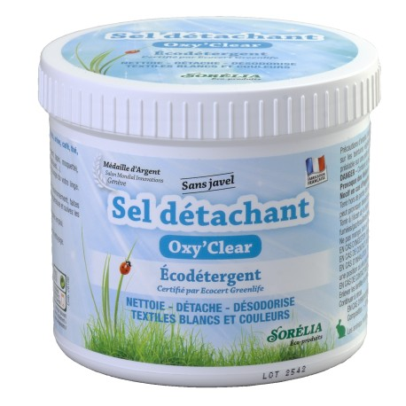 Sel Détachant 500 g Express Oxy Clear